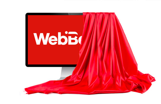 Our new logo for WebBeds