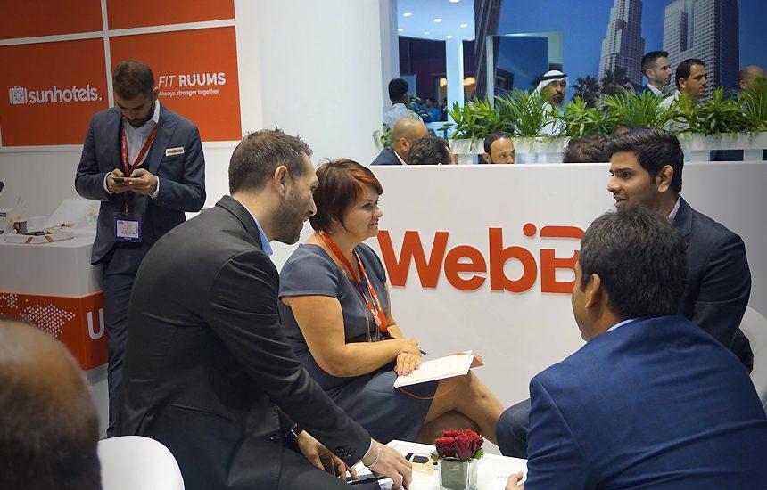 WebBeds exhibits at the Arabian Travel Market