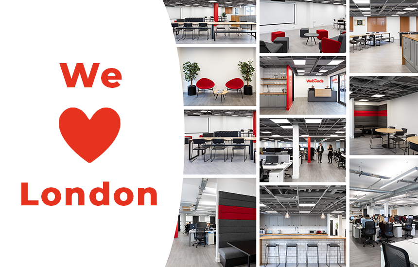 Bigger and Better: New office space for the London teams