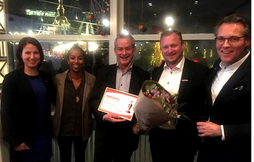 Great Danes! WebBeds hosts some of our Danish travel agents in Copenhagen