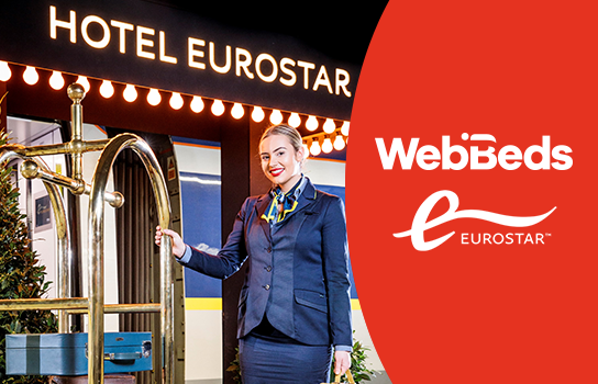 Eurostar and WebBeds expand hotel package programme