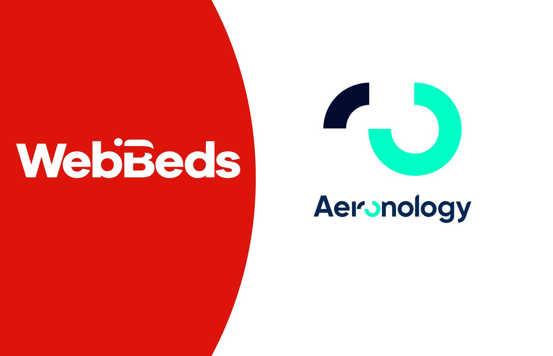 Aeronology announces strategic partnership with WebBeds