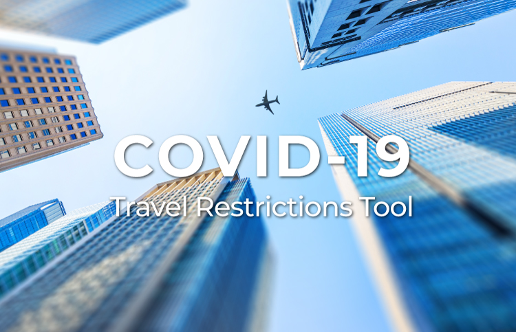 Covid-19 Travel Restrictions Tool added to WebBeds Booking Sites